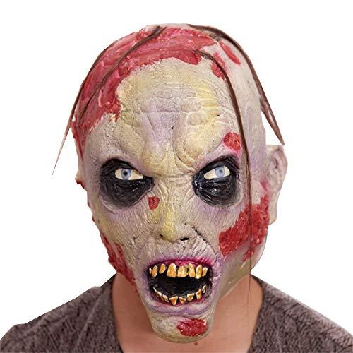 Halloween Maske, Horror Creepy Latex Clown Masken Für Erwachsene Haunted House Dressing Halloween Kostüm Maskerade Party Cosplay - Dr House Kostüm Halloween