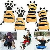 TianranRT Tiger Paw Shaped Winter Fäustlinge Für Kinder Handschuhe Skifahren Winter Warmhalten Handschuhe
