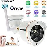 Wanscam® 720 P 1.0MP IP HD Caméra 6 LED 1/2 Inch CMOS Sécurité Extérieure Imperméable à l'eau Nuit Vision 6 mm IR CUT HW0050