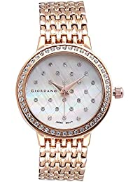 Giordano Analog White Dial Women's Watch - F0001-07