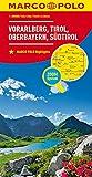 MARCO POLO Regionalkarte Österreich Blatt3 Vorarlberg,Tirol,Oberbayern 1:200 000 (MARCO POLO Karten 1:200.000)