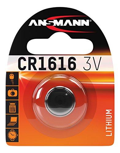 ANSMANN 5020132 Knofpzelle Batterie Lithium CR 1616-3V