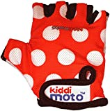 Kiddimoto Dotty Small Gloves (Red)
