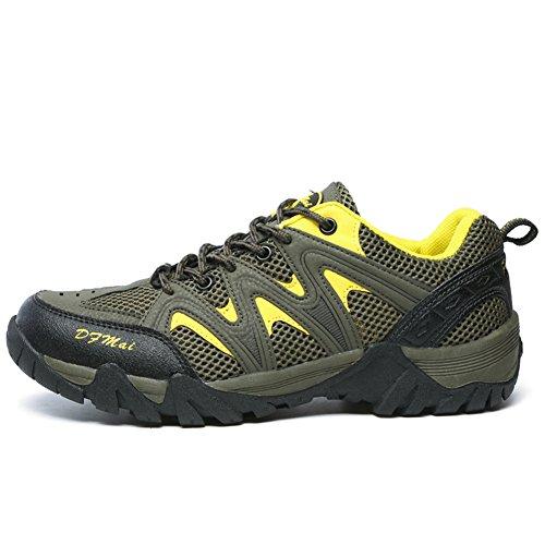 XI-GUA Scarpe da Camminata ed Escursionismo Uomo, Grigio (Grau), 39 EU