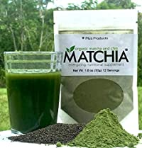 MATCHIA Brand Superfood Energy Supplement.Twin Pack. 24 servings total.
