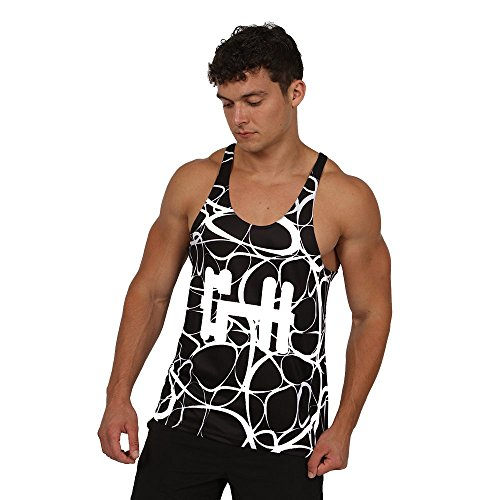 Gymheadz Herren Top Urban Black
