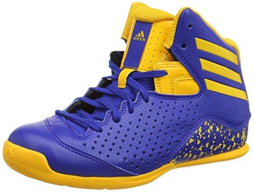 adidas Jungen Nxt Lvl SPD IV NBA K Basketballschuhe, Azul (Azusld/Orosld/Azusld), 31 EU