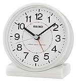 Seiko QHR203H Funkwecker Weiß