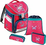 Step by Step Satchel-Set (set of 4) Comfort Butterfly Dancer Rosa fucsia|multicolore