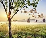 Augenblicke der Stille 2020: Wandkalender groß. Fotokunst-Kalender mit romantischen Aufnahmen von Landschaften. Großformat: 55 x 45,5 cm. Foliendeckblatt. -