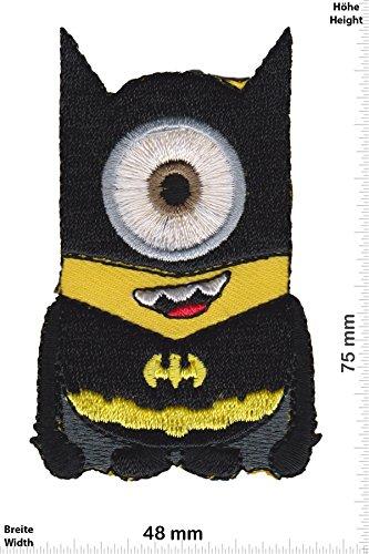 Patch - Minion -Batman - Ich Einfach Unverbesserlich - Movie - Movie - Minion - Aufnäher - zum aufbügeln - Iron On (Patch Einfach)