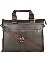 d31310ccf39c Danten s Leather Laptop Bag 14   Briefcase Messenger Laptop Bag
