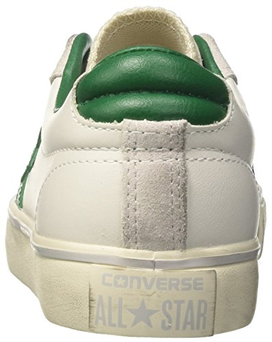 Leather pool white Pro Ox turtledove Weiß Sneakers Converse erwachsene Vulc Table Unisex qwC7z6wt