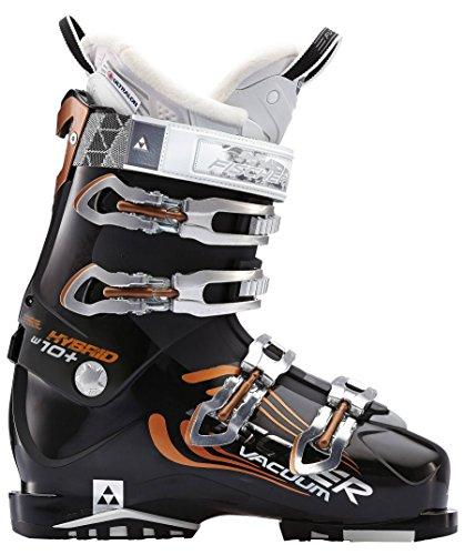 Fischer Damen Skischuh Hybrid 10+ Vacuum schwarz (200) 25,5 (Skischuhe Damen 100)