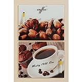 Memo-Tafel Kaffee Motiv Kaffeetasse,Glas 30x40cm