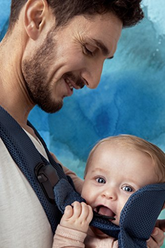 BabyBjörn 093008 Babytrage One Air, Dunkelblau
