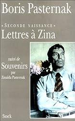 Lettres à Zina suivi de Souvenirs