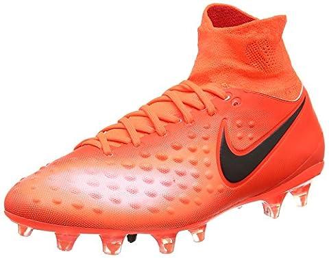 Nike Herren Magista Orden Ii Fg Fußballschuhe, Rot (Total Crimson/Black/Universal Red/Bright Mango), 43