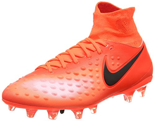 Nike Magista Orden Ii Fg, Chaussures de Football Homme Rouge (Total Crimson/black/universal Red/bright Mango)