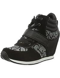 Calvin Klein Jeans Viridiana Metallic Jacquard/su, Sneakers basses femme