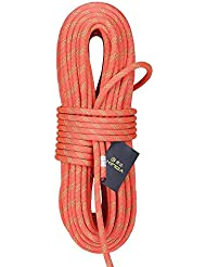 ROBAG 14mm Static Rope Aerial Trabajo Limpieza de la Pared Externa Safety Rescue Rope Rally 38KN / 3800kg , orange , 30m