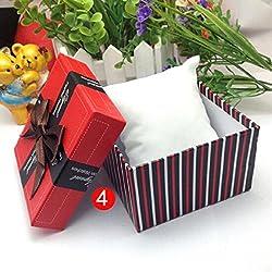Vovotrade Krokodil Durable-Geschenk-Kasten-Kasten für Armband-Schmuck-Uhr-Kasten_E