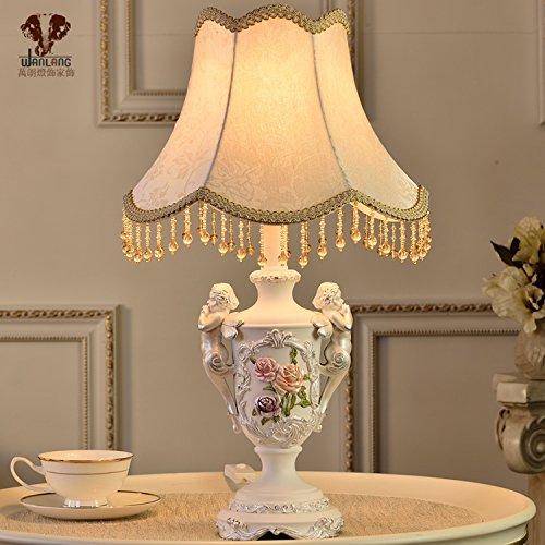 BBSLT Illuminazione moderna posto letto angeli che decora le idee camera da letto lampada da tavolo