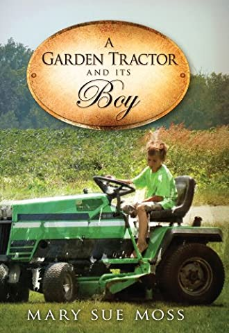 A Garden Tractor and Its Boy