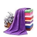 Campeggio asciugamano in microfibra Premium qualità, leggero, dimensioni da bagno, colore: viola