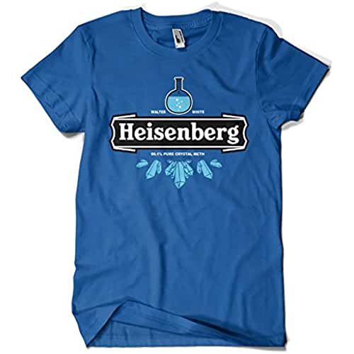 dia del orgullo friki 121-Camiseta Breaking Bad Heisenberg Crystal Meth(Olipop)