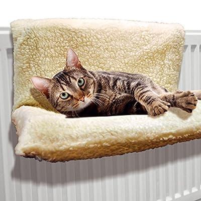 Cat Radiator Bed Warm Pet Beds Fleece Basket Puppy Cradle Animal Hammock Pup Dog from Saving World