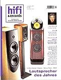 HIFI & RECORDS (Hifi and records/Hifi und records). Das Magazin für hochwertige Musikwiedergabe. Ausgabe 1/2011: Lautsprecher des Jahres. High-End-Tests: AVM SA-8; Bladelius Thor Mk3; Leema Stream/Pulse; Bauer Audio Tonarm.