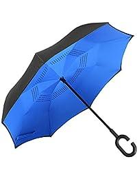 Majik Reverse Umbrella, Reverse Umbrella For Car, Reverse Umbrella For Rains And Sun Protection, Reverse Umbrella...