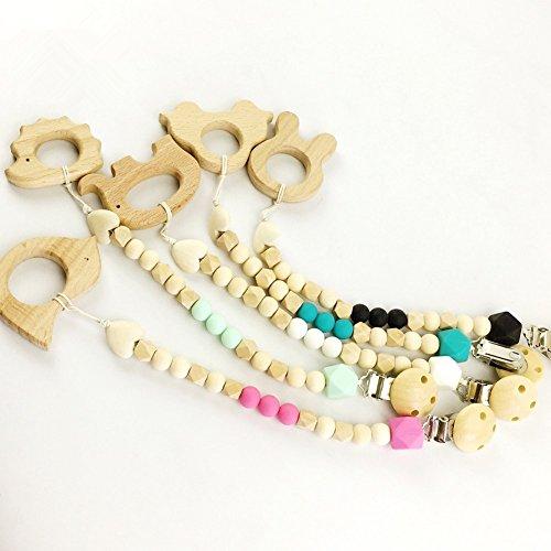 juguetes-del-bebe-de-5-piezas-teether-clips-maniqui-de-silicona-y-madera-teether-animal-lindo-chupet