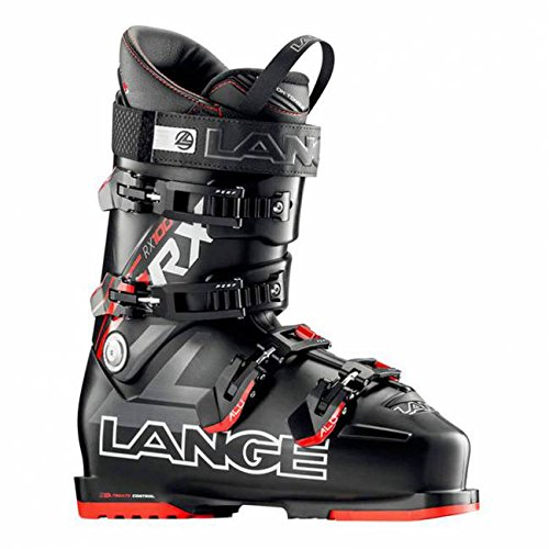 Lange - Chaussures De Ski Rx 100 Black-red Homme - Homme - Noir