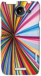 Timpax protective Armor Hard Bumper Back Case Cover. Multicolor printed on 3 Dimensional case with latest & finest graphic design art. Compatible with only HTC one X+ ( Plus ). Design No :TDZ-21152