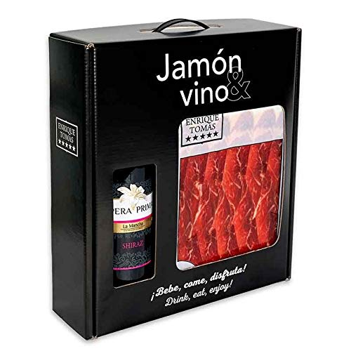 PACK JAMÓN Y VINO - Paleta de Cebo 50% Ibérica