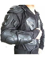 West Biking Protections pour moto/motocross avec gilet , Enfant femme Homme, XXL