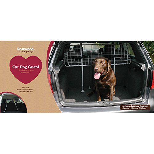 Rosewood 02449 Hundegitter fürs Auto -