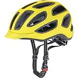 Uvex Fahrradhelm City E, Neon Yellow Mat, 57-61, 4101840217