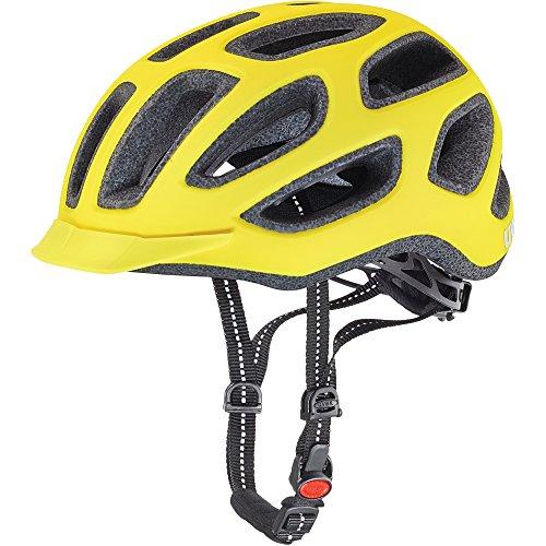 fahrradhelm neon gelb Uvex Fahrradhelm City E, Neon Yellow Mat, 57-61, 4101840217