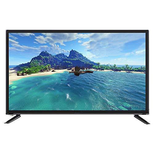 Smart TV, 32-Zoll-1080P-Full-HD-LCD-Heimfernseher Unterstützt USB-, AV-, HDMI- und RJ45-RF-Antenne HDR-Echtzeit-Smart-TV für zu Hause.(EU) - 1080p-tv Zoll 32