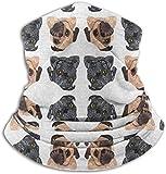 YudoHong Ultimative Wärmespeicherung für kleine Mops, Vielseitigkeit und Stil. Hergestellt aus Performance Comfort Fleece & Microfaser