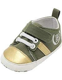 free shipping dd13c c415f Zapatos Primeros Pasos para Bebe Niñas, Zolimx Bebé Recién Nacido Niños  Chicos Correas Cuna Zapatos