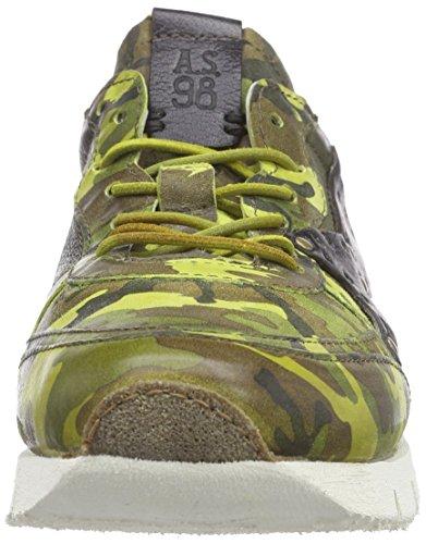 A.S.98 475120, Baskets Basses homme Vert - Grün (Green/Foresta/Cuoio/Nero)