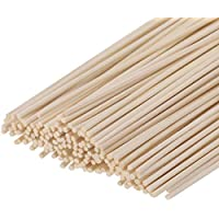 Amos 150 Pieces Reed Diffuser Sticks 9.45 inches Wood Rattan Reed Sticks Fragrance Essential Oil Aroma Diffuser Sticks