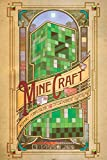 1art1 64102 Minecraft Poster - Computronic, 91 x 61 cm