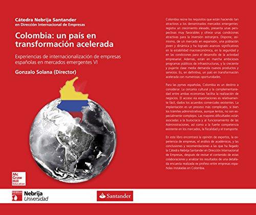Colombia: un pais en transformación acelerada