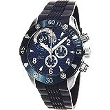 Zenith Homme Bracelet Silicone Bleu Automatique Montre 03.0529.4035/51.R674