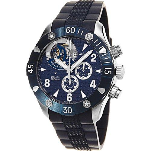 Zenith Herren-Armbanduhr Blau Schweizer Automatik 03.0529.4035/51.R674